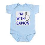 I'm With SAVIOR! Infant Bodysuit
