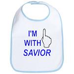 I'm With SAVIOR! Bib