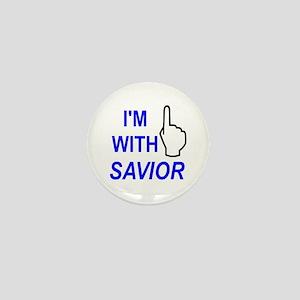 I'm With SAVIOR! Mini Button