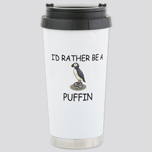 I'd Rather Be A Puffin Mugs