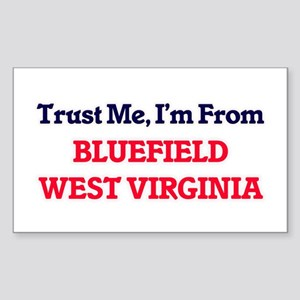 Trust Me, I'm from Bluefield West Virginia Sticker