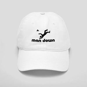 man down rollerblader Cap