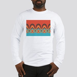 Ethnic pattern Long Sleeve T-Shirt