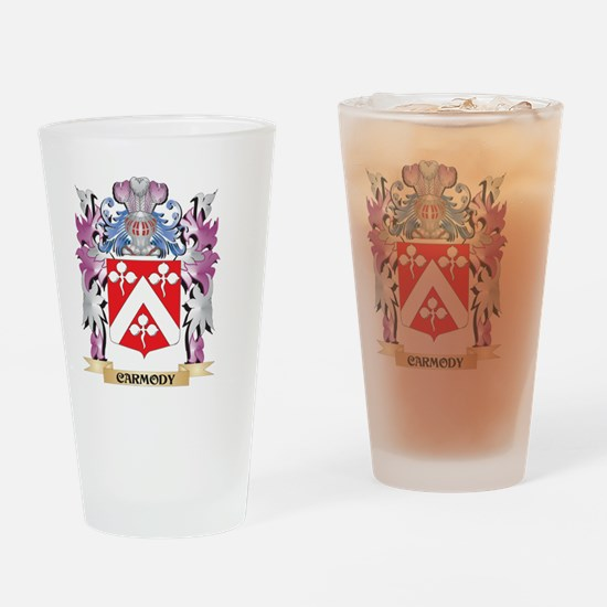 Carmody Coat of Arms (Family Crest) Drinking Glass
