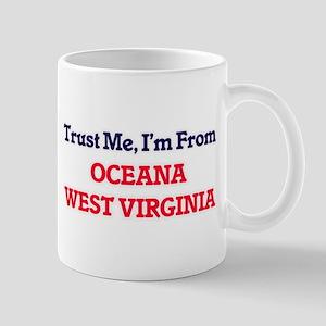 Trust Me, I'm from Oceana West Virginia Mugs