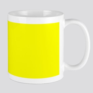 Simply Yellow Solid Color Mugs