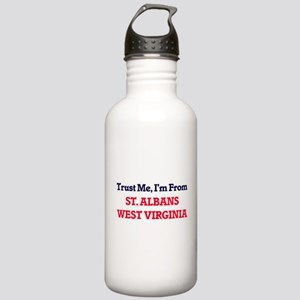 Trust Me, I'm from St. Stainless Water Bottle 1.0L