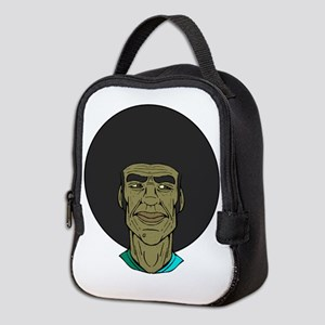Classic Afro Man Neoprene Lunch Bag