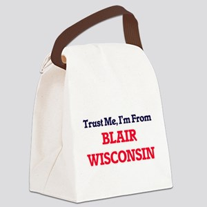 Trust Me, I'm from Blair Wisconsi Canvas Lunch Bag