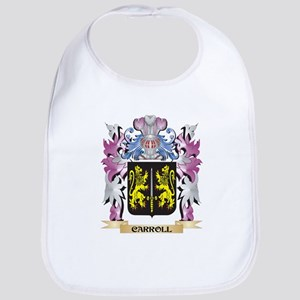 Carroll Coat of Arms (Family Crest) Bib