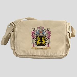 Carroll Coat of Arms (Family Crest) Messenger Bag