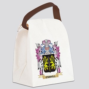 Carroll Coat of Arms (Family Cres Canvas Lunch Bag