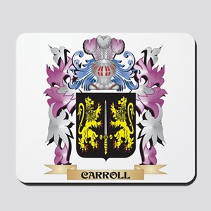 Carroll Coat of Arms (Family Crest) Mousepad
