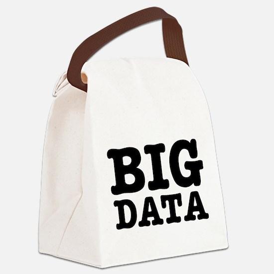 BIG DATA Canvas Lunch Bag