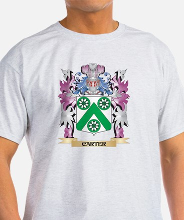 Carter Coat of Arms (Family Crest) T-Shirt