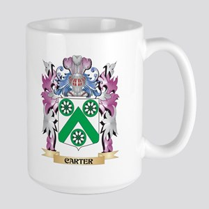 Carter Coat of Arms (Family Crest) Mugs