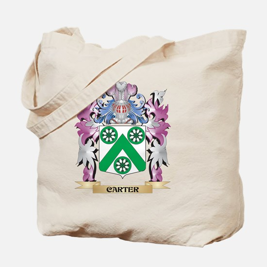 Carter Coat of Arms (Family Crest) Tote Bag