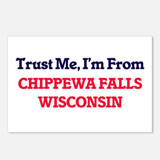 Trust Me, I'm from Chippe Postcards (Package of 8)