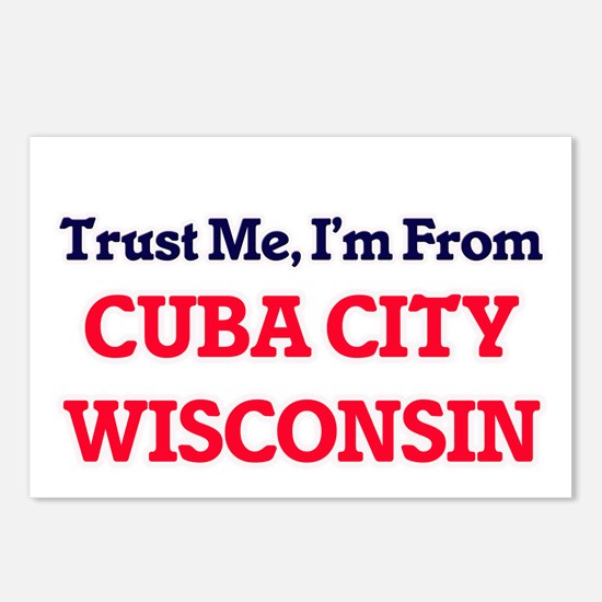 Trust Me, I'm from Cuba C Postcards (Package of 8)