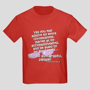 No Autographs, please! Kids Dark T-Shirt