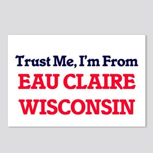 Trust Me, I'm from Eau Cl Postcards (Package of 8)