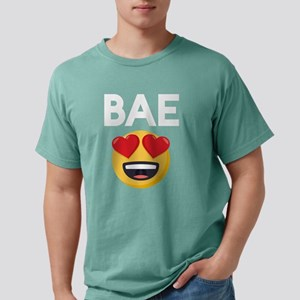 Emoji Heart Eyes Bae Mens Comfort Colors Shirt