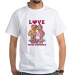 Teddy Love White T-Shirt