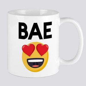 Emoji Heart Eyes Bae 11 oz Ceramic Mug