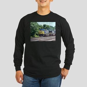 CSX Q190 Doublestack Train Long Sleeve T-Shirt