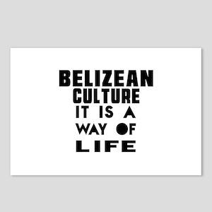 Belizean Culture It Is A Postcards (Package of 8)