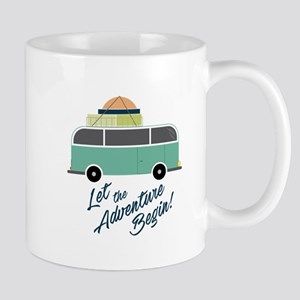 Adventure Begin Mugs