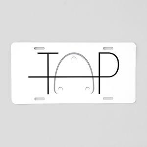 Tap Dance Aluminum License Plate