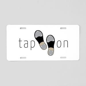 Tap On Aluminum License Plate