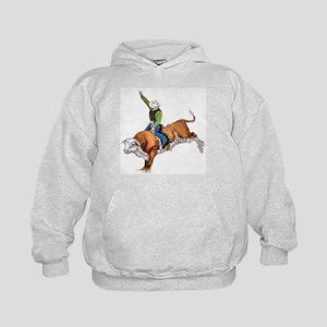 Bull Rider Kids Hoodie