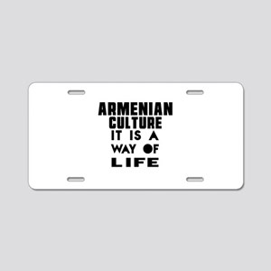 Armenian Culture It Is A Wa Aluminum License Plate