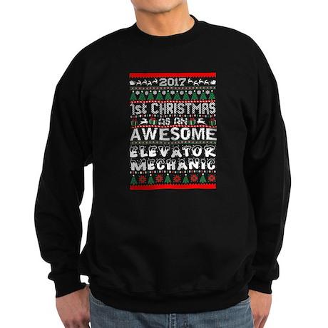 2017 1st Christmas Awesome Elevator Mec Sweatshirt