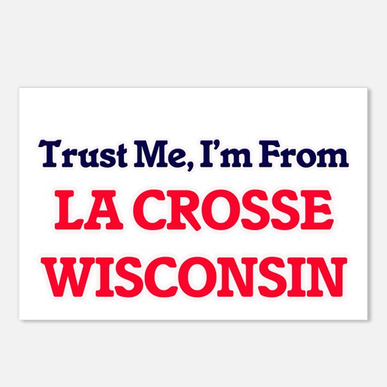 Trust Me, I'm from La Cro Postcards (Package of 8)