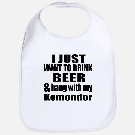 Hang With My Komondor Bib
