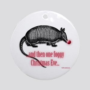 red nosed armadillo Ornament (Round)