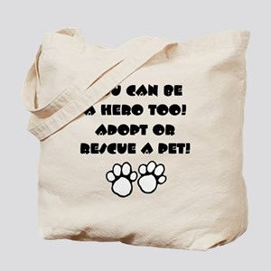 Dog Hero Tote Bag