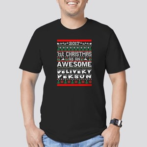 2017 1st Christmas Awesome Delivery Person T-Shirt