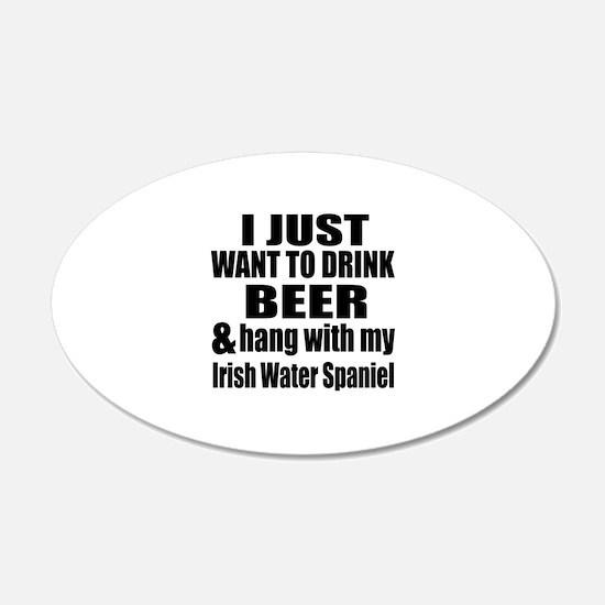 Hang With My Irish Water Spa Wall Decal