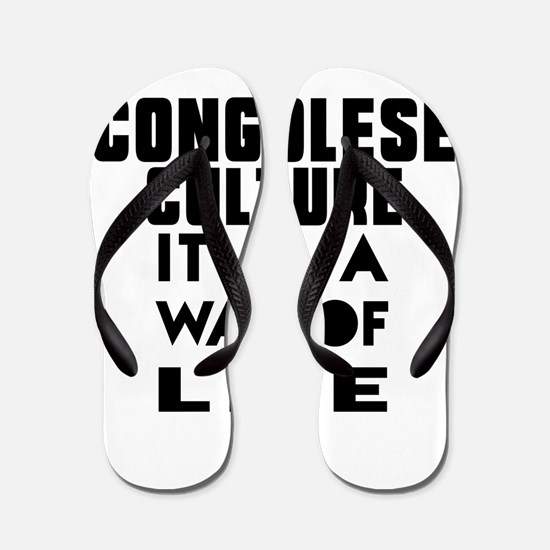 Congolese Culture It Is A Way Of Life Flip Flops
