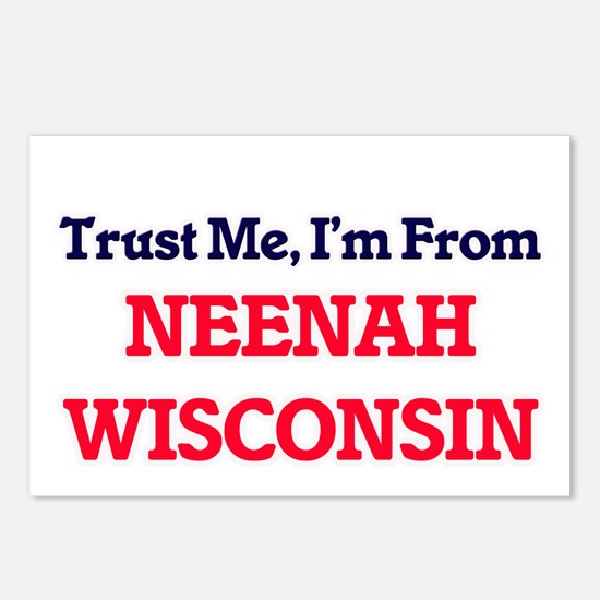 Trust Me, I'm from Neenah Postcards (Package of 8)