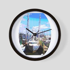The Fishing Trawler Wall Clock