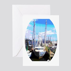 The Fishing Trawler Greeting Cards (Pk of 10)