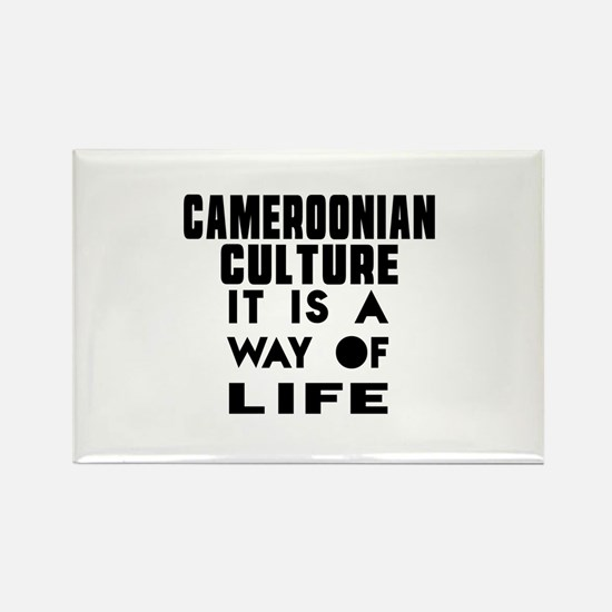 Cemeroonian Culture It Is A Way O Rectangle Magnet