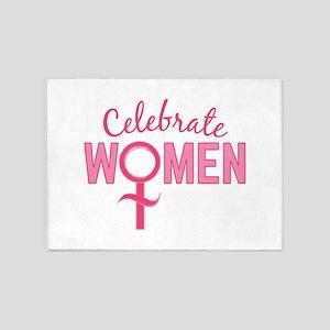 Celebrate Women 5'x7'Area Rug
