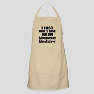 Hang With My Golden Retriever Apron