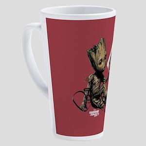 GOTG Groot Cassette 17 oz Latte Mug